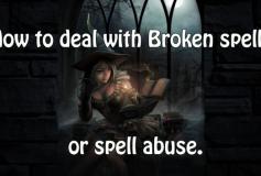 How To Deal With Broken Spells