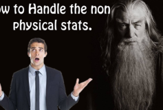 How To Handle Non-Physical Stats