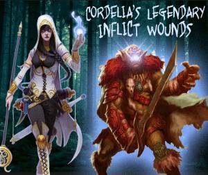 Cordelia's Legendary Inflict Wounds by SonofJoxer