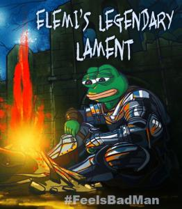 Elemi's Legendary Lament by SonofJoxer