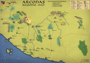 Updated Arconas Map by SonofJoxer